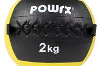 Balón medicinal 2 kg, 3 kg, 4 kg, 5 kg, 6 kg, 7 kg, 8 kg, 9 kg, 10 kg - Ideal para los ejercicios de Functional fitness, CROSSFIT, Core training y para el desarrollo de la velocidad, fuerza y POTENCIA muscular - Particularmente indicada para el desarollo y la tonificación de los músculos ABDOMINALES, cuádriceps, pectorales, hombros y glúteos - Producto hecho de cuero sintético RESISTENTE al lanzamiento contra la pared - Wall ball (2 kg - Amarillo)