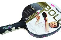 Butterfly Timo Boll Silver - Pala de ping pong ( 1,5 mm ) , color rojo