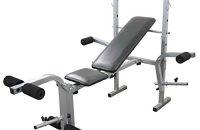 Levantamiento Pesas Bench Multi-gym Con Extensión De La Pierna Y Fly Accesorio Plegable Inclinación Ajustable Gimnasio Fitness Bench