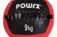 Balón medicinal 1 kg, 2 kg, 3 kg, 4 kg, 5 kg, 6 kg, 7 kg, 8 kg, 9 kg, 10 kg - Ideal para los ejercicios de FUNCTIONAL FITNESS, core training y para el desarrollo de la potencia muscular - Wall ball (9 kg)