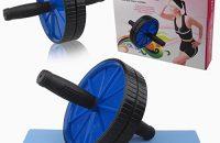 Abdominales Safekom tóner ejercicio Fitness máquina fuerza del cuerpo rueda rodillo