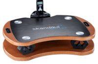 Skandika Plataforma vibratoria 300 - Plataforma vibratoria unisex, color marrón