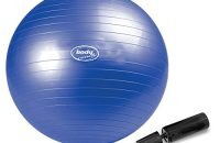Body Coach - Pelota de gimnasia (65 cm), color azul