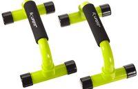 Push Up bars - Soportes para flexiones, verde claro