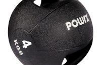 Balón medicinal con asas 3 kg, 4 kg, 5 kg, 6 kg, 7 kg, 8 Kg, 9 kg y 10 kg - Ideal para la práctica del cross training, entrenamientos funcionales, la potencia o la rehabilitación (7 kilogramos)