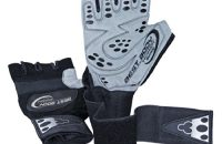 Best Body Nutrition Top Grip Gloves - Guantes para fitness, color negro / blanco, talla M