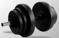 BodyRip 20 kg ajustable mancuerna conjunto FITNESS gimnasio en casa equipos