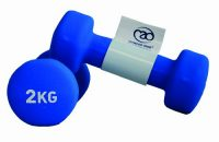 Fitness Mad Neo - 2 Mancuernas de 2kg/u, color azul