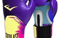 Everlast 2300/PL/YW14 - Guante de boxeo elite, color morado/ amarillo