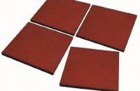Estera 50x 50x 2,5/4,5cm, varios colores, Placa protectora suelo–Alfombrilla de goma de jardín