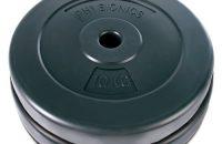 Physionics® - HSTA18 - 2 discos de pesas de 10kg cada uno